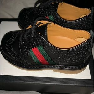 Gucci brogue shoes for toddler